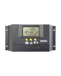30A 12/24V Solar Regulator with Display