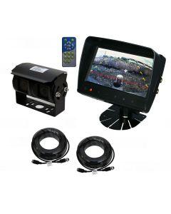 "Viewtech 7"" Reversing Camera Kit with Dual Camera. For Motorhomes"