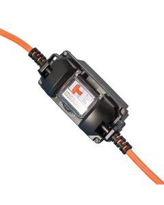 230V Ampfibian Weatherproof Power Lead Adapter With Circuit Breaker