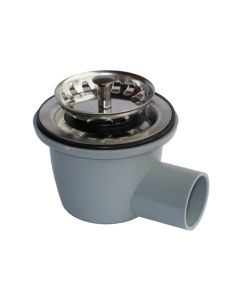 28mm Sink Waste 90 Deg (For 53-60mm Sink Drainer Hole)