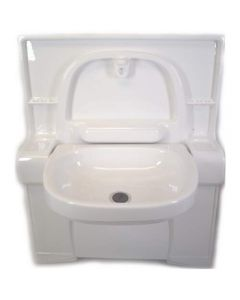 Foldaway Basin Classic With Curved Bottom For C400 Series Toilets