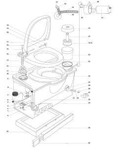 Thetford C2 Toilet Spare Parts