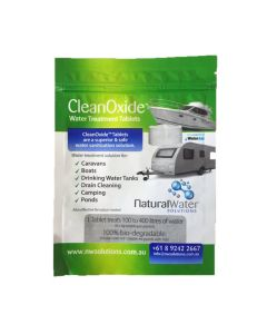 CleanOxide Drinking Water Treatment Tablets