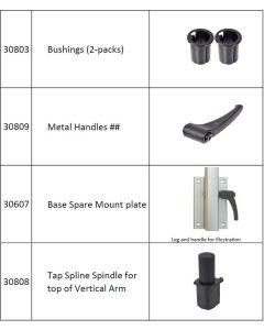 Lagun Table Pedestal Spare Parts