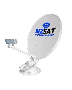 NZSat Wind-Up Satellite dish