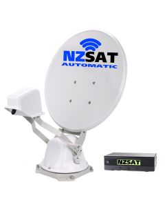 NZSAT Automatic Satellite Dish with GPS & Dual Output 65cm