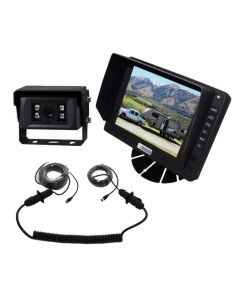 """Viewtech 5"""" Reversing Camera Kit For Caravans and 5th Wheelers"""