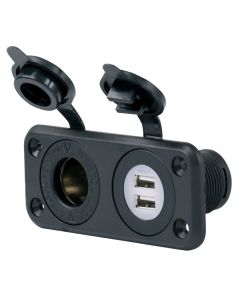 SeaLink 12V Socket with USB Outlets
