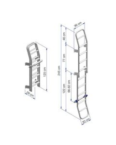 Folding Ladder for Motorhomes