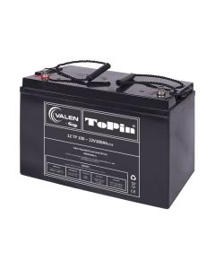 Valen Deep Cycle Battery. 12V 100 A/h Topin (AGM)