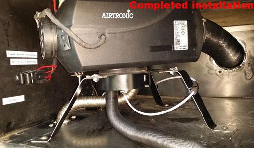 Installing an Eberspacher Diesel Heater / RV World - Shop RV